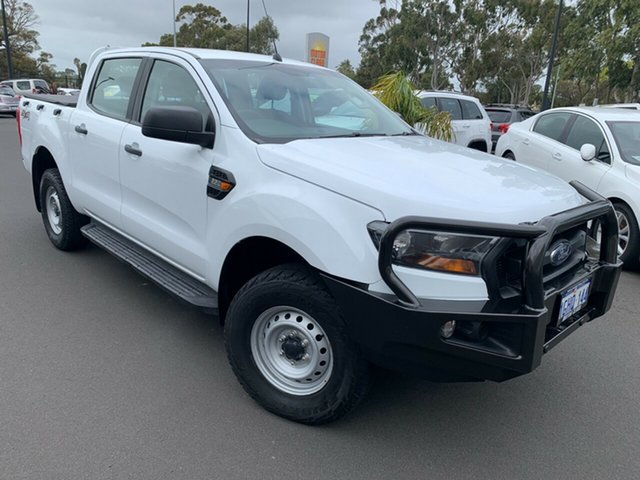 Used Ford Ranger PX MkII XL Bunbury, 2017 Ford Ranger PX MkII XL White 6 Speed Sports Automatic Utility