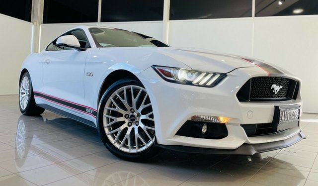 Used Ford Mustang FM GT Fastback SelectShift Deer Park, 2016 Ford Mustang FM GT Fastback SelectShift White 6 Speed Sports Automatic Fastback
