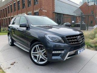 2013 Mercedes-Benz M-Class W166 ML350 BlueTEC 7G-Tronic + Grey 7 Speed Sports Automatic Wagon.