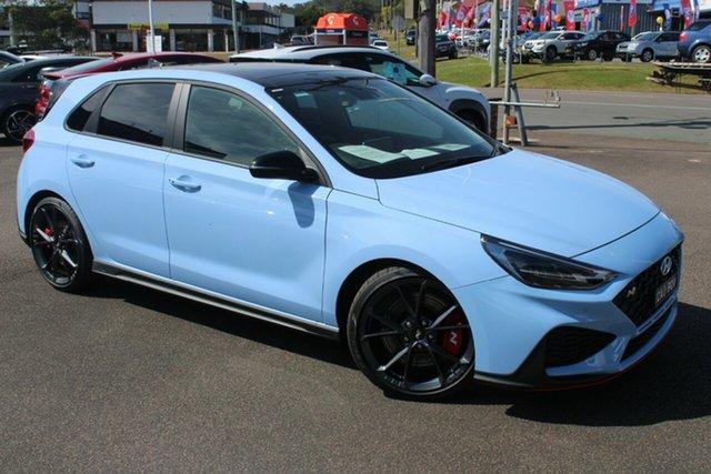 Demo Hyundai i30 Pde.v4 MY22 N D-CT Premium North Gosford, 2021 Hyundai i30 Pde.v4 MY22 N D-CT Premium Performance Blue 8 Speed Sports Automatic Dual Clutch