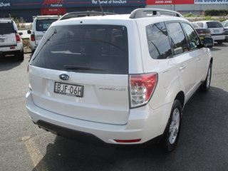 2009 Subaru Forester MY09 XS Pearl White 4 Speed Auto Elec Sportshift Wagon.