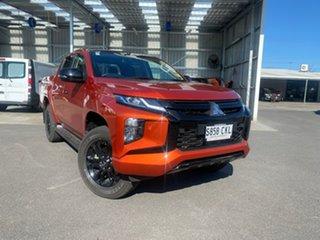 2021 Mitsubishi Triton MR MY22 GSR Double Cab Orange 6 Speed Sports Automatic Utility.