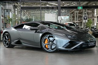 2021 Lamborghini Huracan 724 MY21 EVO D-CT RWD Grey 7 Speed Sports Automatic Dual Clutch Coupe.