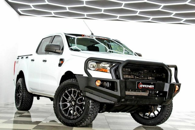 Used Ford Ranger PX MkII MY18 XL 3.2 (4x4) Burleigh Heads, 2018 Ford Ranger PX MkII MY18 XL 3.2 (4x4) White 6 Speed Automatic Crew Cab Utility