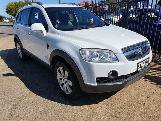 Used Holden Captiva CG MY09 LX AWD Morphett Vale, 2009 Holden Captiva CG MY09 LX AWD White 5 Speed Sports Automatic Wagon