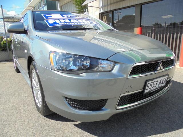 Used Mitsubishi Lancer CJ MY14 LX Edwardstown, 2013 Mitsubishi Lancer CJ MY14 LX Silver 5 Speed Manual Sedan
