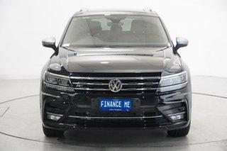 2021 Volkswagen Tiguan 5N MY21 140TDI Highline DSG 4MOTION Allspace Black 7 Speed.
