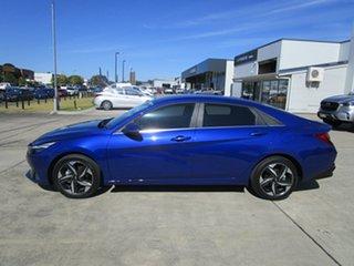 2021 Hyundai i30 CN7.V1 MY21 Active Blue 6 Speed Sports Automatic Sedan
