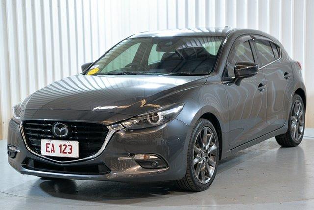 Used Mazda 3 BM5438 SP25 SKYACTIV-Drive Astina Hendra, 2016 Mazda 3 BM5438 SP25 SKYACTIV-Drive Astina Grey 6 Speed Sports Automatic Hatchback