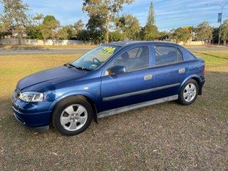 2002 Holden Astra TS CD Blue 5 Speed Manual Hatchback