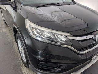 2015 Honda CR-V RM Series II MY16 VTi Black 6 Speed Manual Wagon.