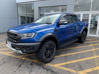 2019 Ford Ranger PX MkIII 2020.25MY Raptor Blue 10 Speed Sports Automatic Double Cab Pick Up.