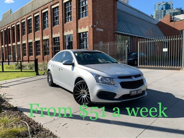 Used Holden Cruze JH Series II MY16 Equipe South Melbourne, 2015 Holden Cruze JH Series II MY16 Equipe Silver 6 Speed Sports Automatic Sedan