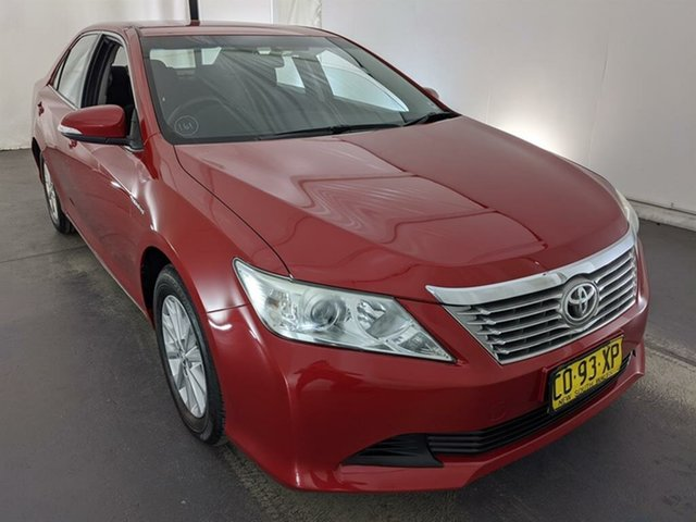 Used Toyota Aurion GSV50R AT-X Maryville, 2012 Toyota Aurion GSV50R AT-X Red 6 Speed Sports Automatic Sedan