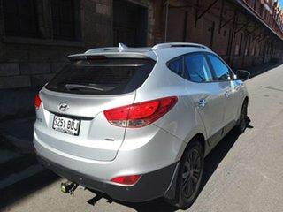 2013 Hyundai ix35 LM2 Elite AWD Sleek Silver 6 Speed Sports Automatic Wagon