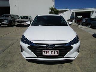 2020 Hyundai Elantra AD.2 MY20 Active White 6 Speed Sports Automatic Sedan.