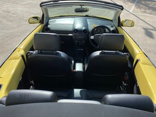 2006 Volkswagen Beetle 1Y MY2006 Yellow 6 Speed Sports Automatic Cabriolet