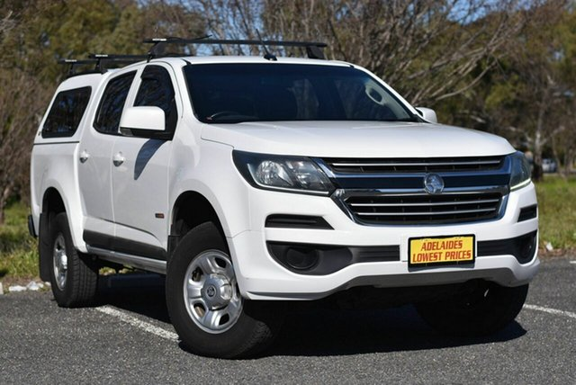 Used Holden Colorado RG MY18 LS Pickup Crew Cab 4x2 Enfield, 2017 Holden Colorado RG MY18 LS Pickup Crew Cab 4x2 White 6 Speed Sports Automatic Utility