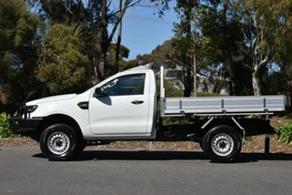 2017 Ford Ranger PX MkII 2018.00MY XL Hi-Rider White 6 Speed Manual Cab Chassis