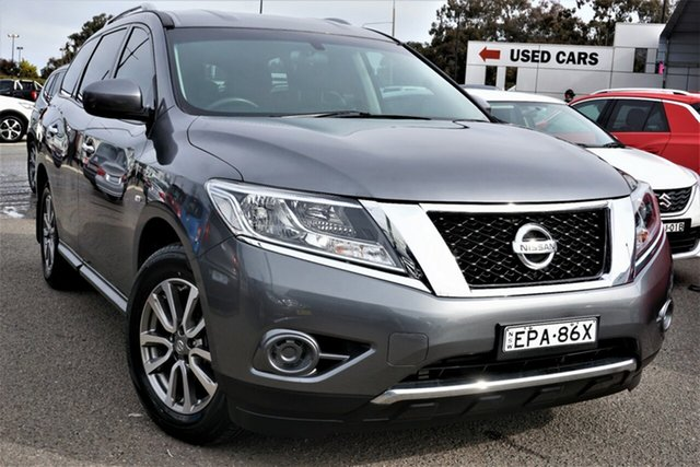 Used Nissan Pathfinder R52 MY15 ST X-tronic 2WD Phillip, 2015 Nissan Pathfinder R52 MY15 ST X-tronic 2WD Grey 1 Speed Constant Variable Wagon