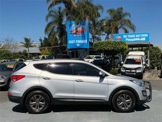 2014 Hyundai Santa Fe DM Active Silver 6 Speed Sports Automatic Wagon.