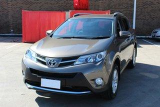 2013 Toyota RAV4 ALA49R GXL (4x4) Brown 6 Speed Automatic Wagon.
