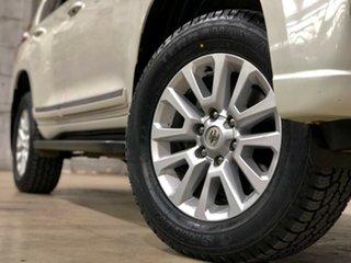 2017 Toyota Landcruiser Prado GDJ150R Altitude White 6 Speed Sports Automatic Wagon