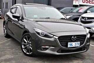 2018 Mazda 3 BN5436 SP25 SKYACTIV-MT Astina Grey 6 Speed Manual Hatchback.