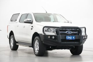 2016 Ford Ranger PX MkII XLT Double Cab 4x2 Hi-Rider White 6 Speed Sports Automatic Utility