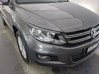 2015 Volkswagen Tiguan 5N MY15 132TSI DSG 4MOTION Grey 7 Speed Sports Automatic Dual Clutch Wagon.