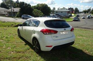 2018 Kia Cerato YD MY18 Sport+ White 6 Speed Sports Automatic Hatchback