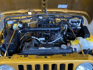 2003 Jeep Wrangler TJ MY2003 Sport Yellow 5 Speed Manual Hardtop