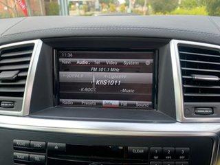 2013 Mercedes-Benz M-Class W166 ML350 BlueTEC 7G-Tronic + Grey 7 Speed Sports Automatic Wagon