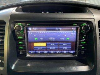 2004 Toyota Landcruiser Prado GRJ120R GXL White 5 Speed Automatic Wagon