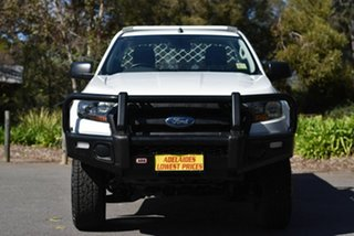 2017 Ford Ranger PX MkII 2018.00MY XL Hi-Rider White 6 Speed Manual Cab Chassis.