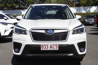 2020 Subaru Forester S5 MY21 2.5i-L CVT AWD White Pearl 7 Speed Constant Variable Wagon.
