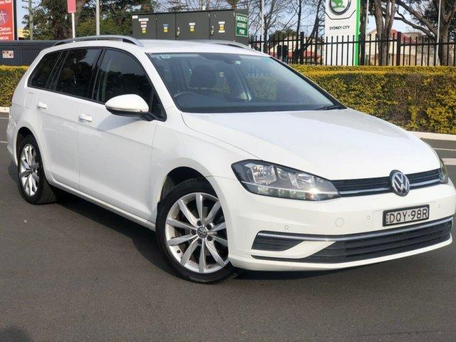 Used Volkswagen Golf 7.5 MY18 110TSI DSG Comfortline Botany, 2017 Volkswagen Golf 7.5 MY18 110TSI DSG Comfortline White 7 Speed Sports Automatic Dual Clutch