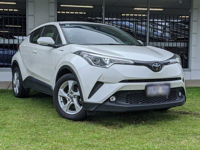 Used Toyota C-HR NGX10R S-CVT 2WD Victoria Park, 2019 Toyota C-HR NGX10R S-CVT 2WD White 7 Speed Constant Variable Wagon