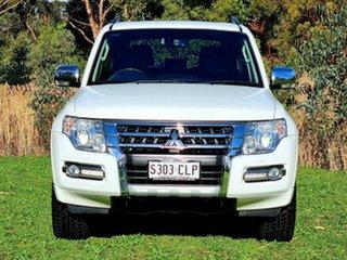 2018 Mitsubishi Pajero NX MY18 Exceed White 5 Speed Sports Automatic Wagon.