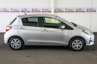 2018 Toyota Yaris NCP130R MY17 Ascent Silver Pearl 4 Speed Automatic Hatchback