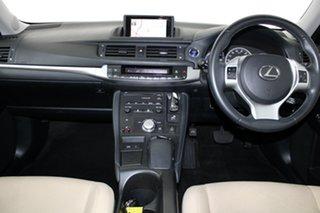 2011 Lexus CT ZWA10R CT200h Luxury Elysium Blue 1 Speed Constant Variable Hatchback Hybrid
