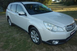2012 Subaru Outback B5A MY12 2.5i Lineartronic AWD White 6 Speed Constant Variable Wagon.