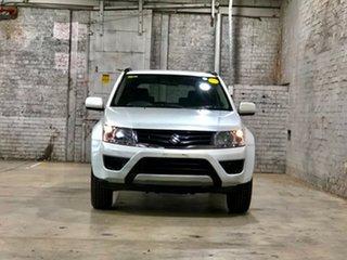 2016 Suzuki Grand Vitara JB Navigator White 4 Speed Automatic Hardtop.