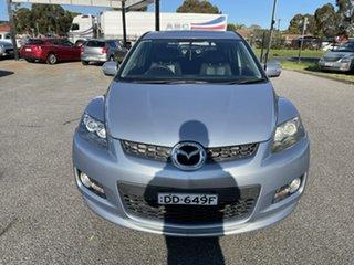 2007 Mazda CX-7 ER1031 MY07 Luxury Silver 6 Speed Sports Automatic Wagon.