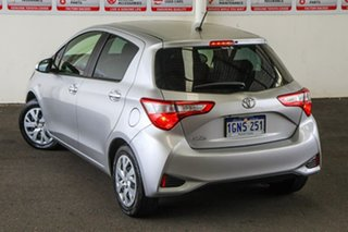 2018 Toyota Yaris NCP130R MY17 Ascent Silver Pearl 4 Speed Automatic Hatchback.