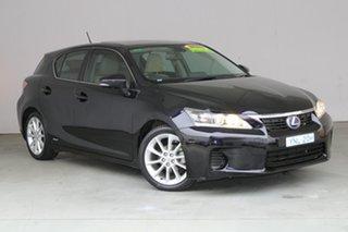 2011 Lexus CT ZWA10R CT200h Luxury Elysium Blue 1 Speed Constant Variable Hatchback Hybrid.
