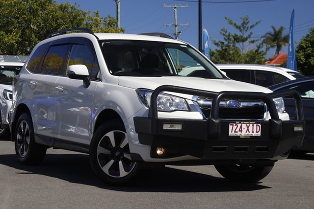 Used Subaru Forester S4 MY16 2.5i-L CVT AWD Mount Gravatt, 2016 Subaru Forester S4 MY16 2.5i-L CVT AWD White 6 Speed Constant Variable Wagon