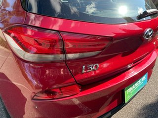2017 Hyundai i30 PD MY18 SR D-CT Fiery Red 7 Speed Sports Automatic Dual Clutch Hatchback