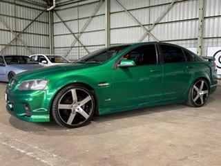 2010 Holden Commodore VE II SV6 Green 6 Speed Sports Automatic Sedan.