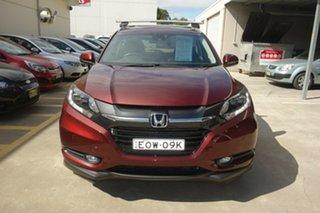 2017 Honda HR-V MY17 VTi-L Red 1 Speed Constant Variable Hatchback.